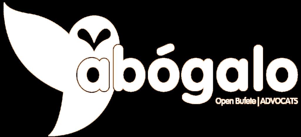 Logo abógalo blanco